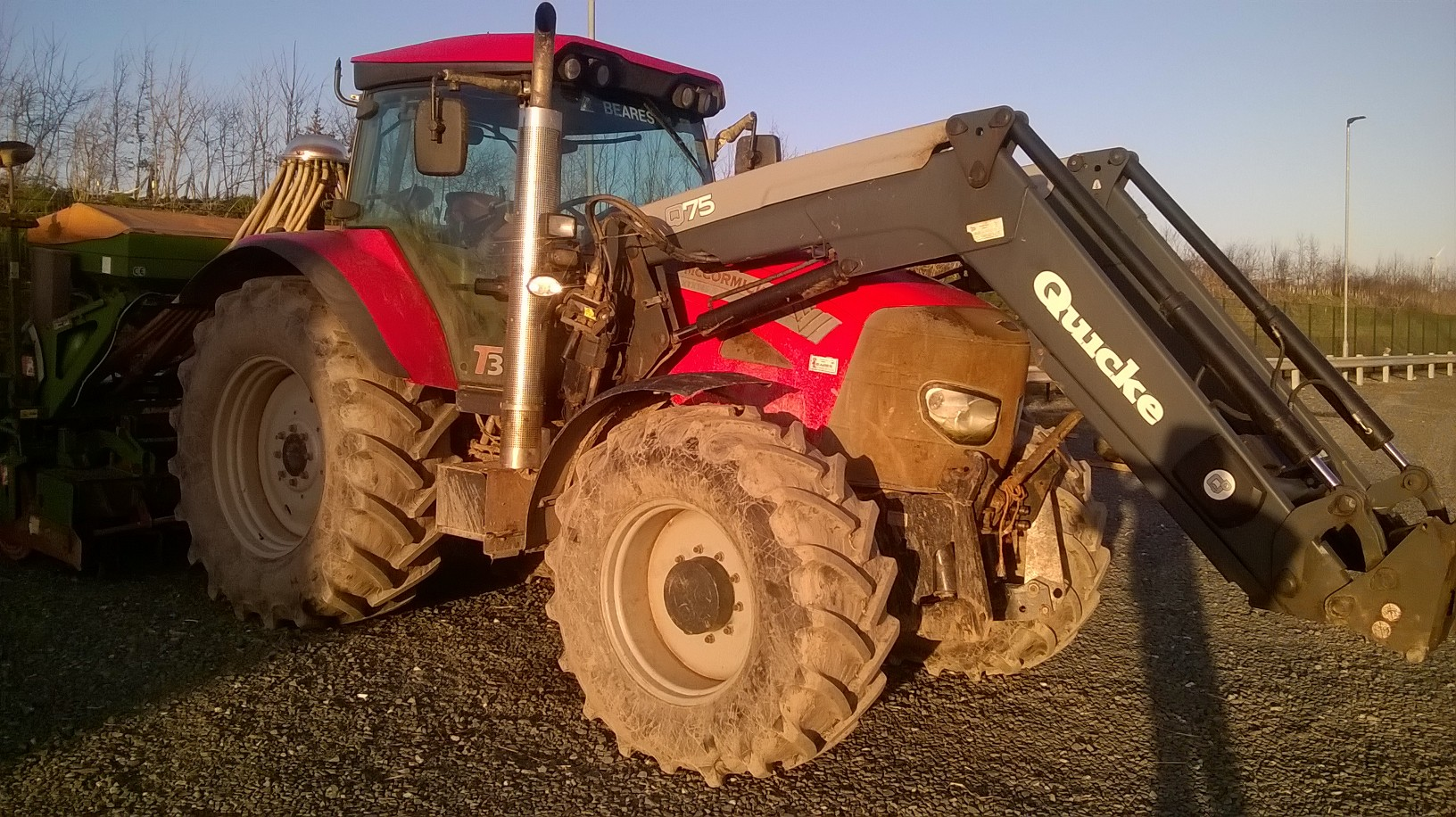 McCormick tractor with loader