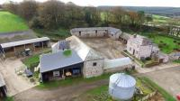 Aerial shot of Churchtown Farm