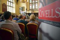 Kivells Spring Property Collective Auction 2018 auction room full of people ready to bid