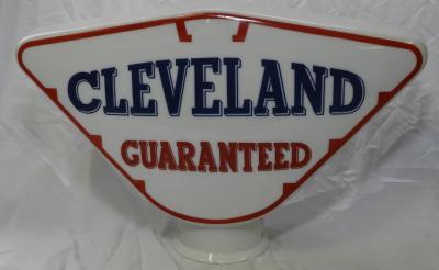 Cleveland petrol pump globe £460