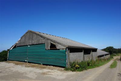Helland Barton Farm agricultural building