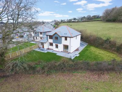 Drone image of property at Chapel Park Launceston