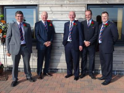 From left to right: Kivells Directors Mark Bunt, Kevin Hicks, Simon Alford, David Kivell and Mark Bromell